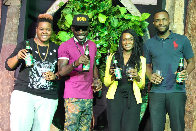 10-Choc City DJ, DJ Lambo, Artiste, Blackmagic, Senior Brand Manager, CSD & ACE, Nnenna Ifebigh-Hemeson and Now Music Artiste, EFA at the Unveiling of ACE Roots today, Friday, February 27, 2015 in Ikeja Lagos. 1