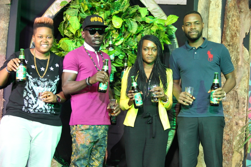 11-Choc City DJ, DJ Lambo, Artiste, Blackmagic, Senior Brand Manager, CSD & ACE, Nnenna Ifebigh-Hemeson and Now Music Artiste, EFA at the Unveiling of ACE Roots today, Friday, February 27, 2015 in Ikeja Lagos.