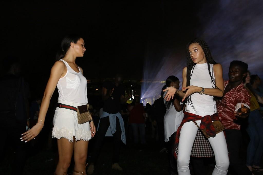 13 - Kassiana and Eku Edewor on fire