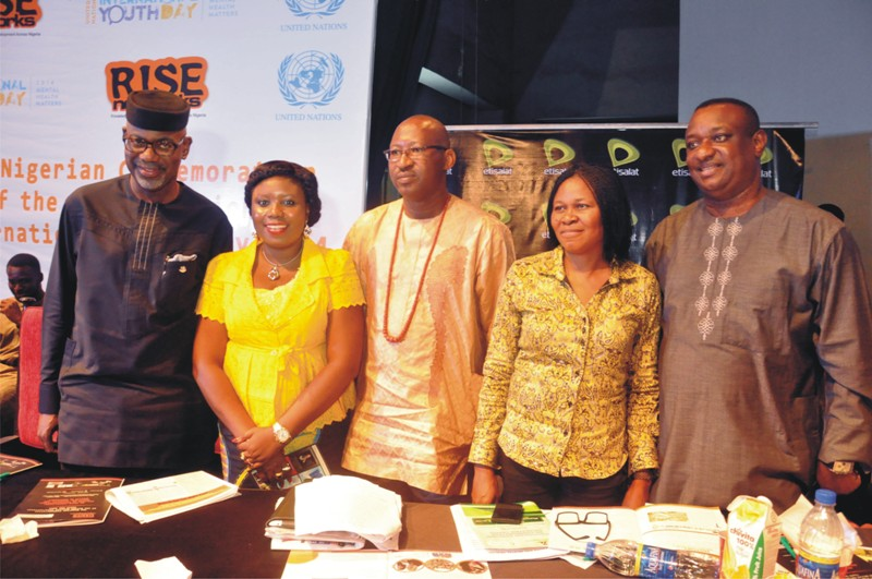 From L to R (Sen. Liyel Imoke (CON) - Exec. Gov. of Cross River State, Miss Toyosi Akerele - CEO, Rise Networks, Hon. Patrick Obahiagbon - Chief of Staff, Edo State Government, Dr. Joe Okei Odumakin - ED, Campaign for Democracy and Festus Keyamo Esq. - Lawyer and Human Right Activist) at the #RISEUNIYD2014 Event.
