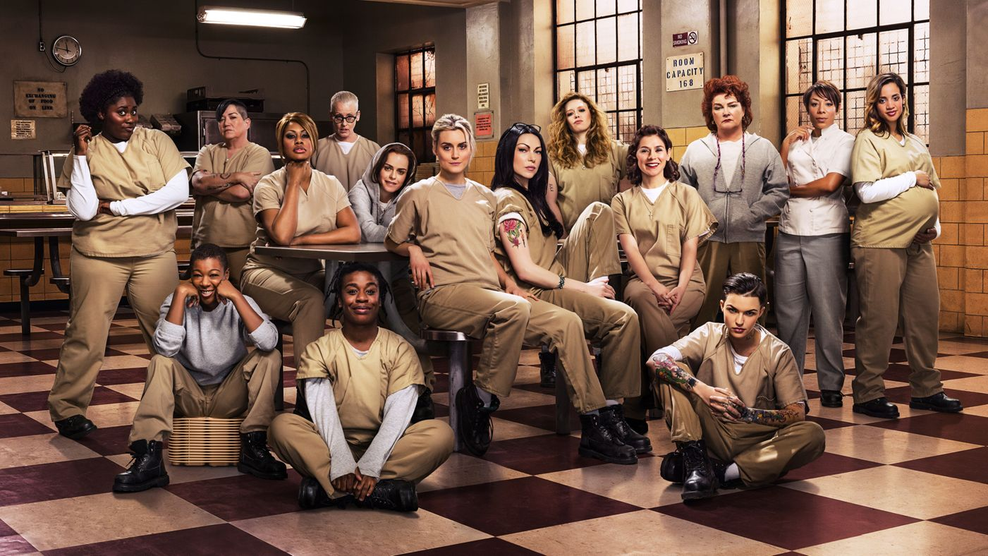 orange is the new black - The Night Before Christmas Cast