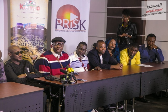 2Baba, Ali Baba, Mwalim Churchill, Jessy The MC, Dela, Kelly Hansome, Efe Omorogbe