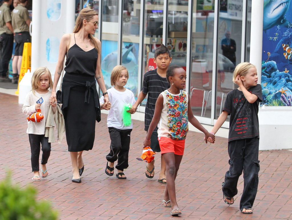Incredible! The Seven Kids of Angelina Jolie and Brad ...