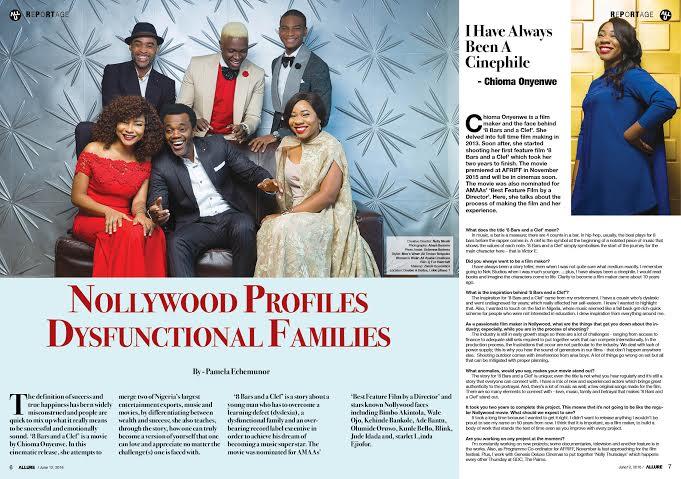 Linda Ejiofor, Ibk Spaceshipboi, Ade Bantu, Kehinde Bankole, Bimbo Akintola, Wale Ojo, Olumide Oworu,