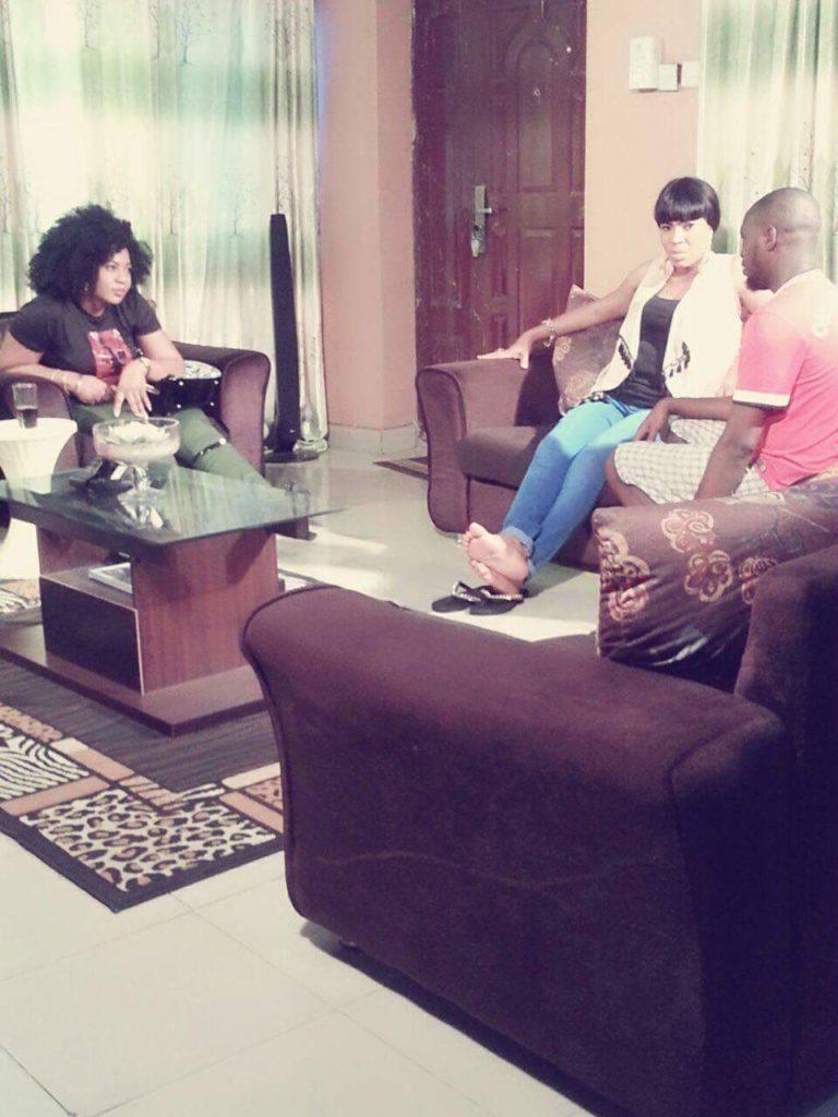Nollywood Actress Lola Faduri's Ayanmo Location picture  (3)