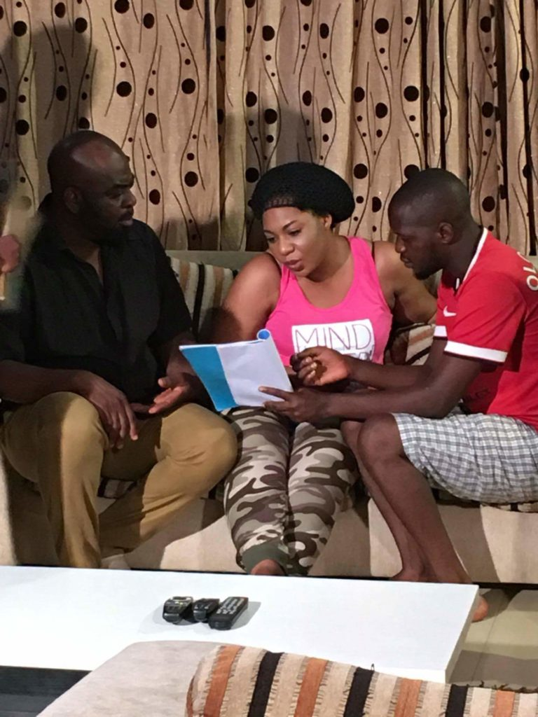 Nollywood Actress Lola Faduri's Ayanmo Location picture  (5)