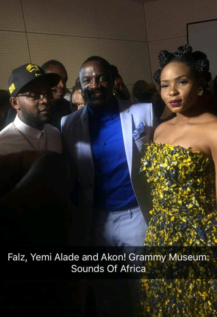 Yemi Alade, Akon and Falz