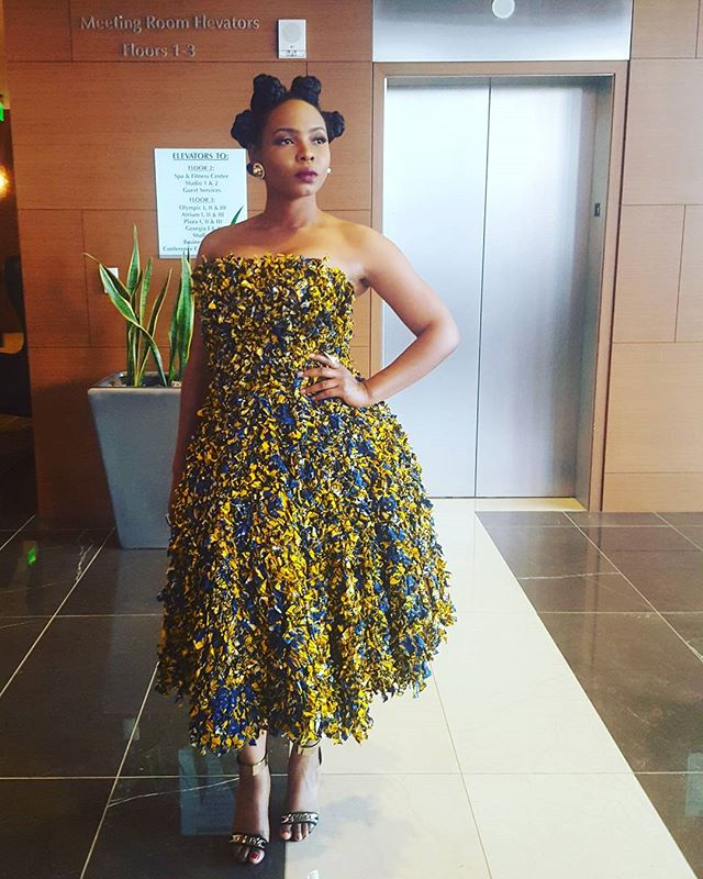 Yemi Alade in Mademoiselle Aglaia