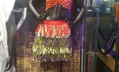 Yemi Alade's Johnny Music Video Costume at The Grammy Museum