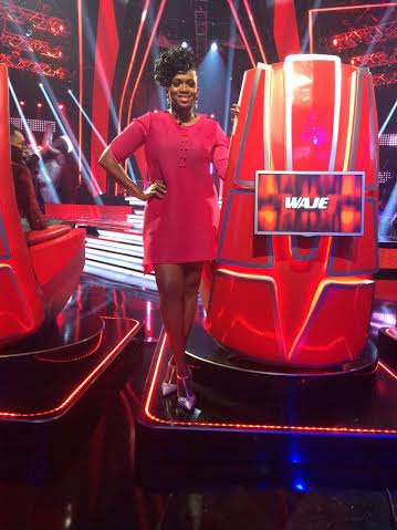 waje-the voice nigeria
