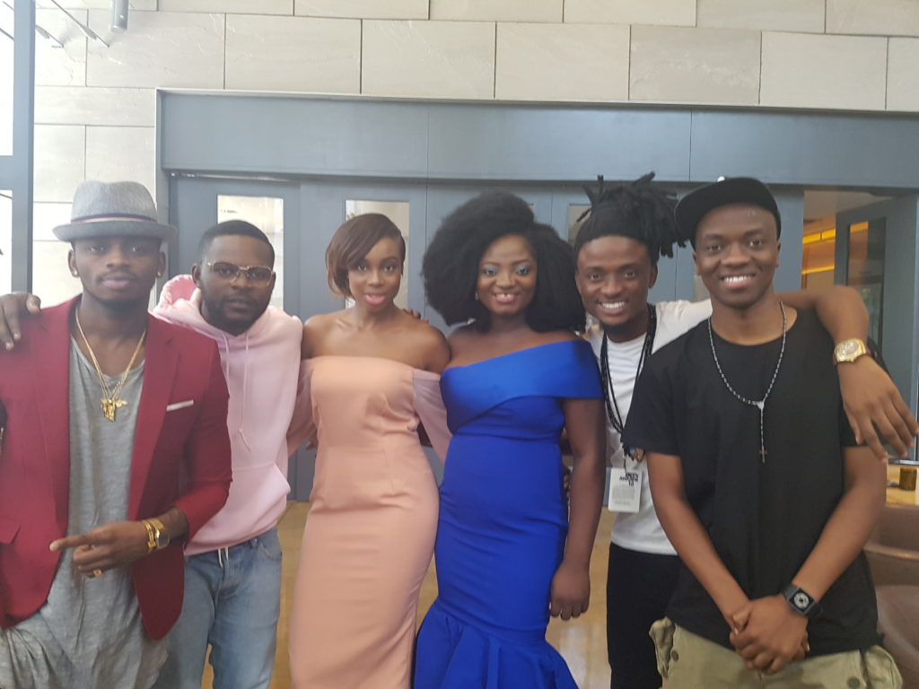 DIAMOND PLATNUMZ, FALZ, MARIA OKAN, TOSIN AJIBADE, EHIZ, MILLARD AYO AT BET EXPERIENCE 2016 IN LOS ANGELES