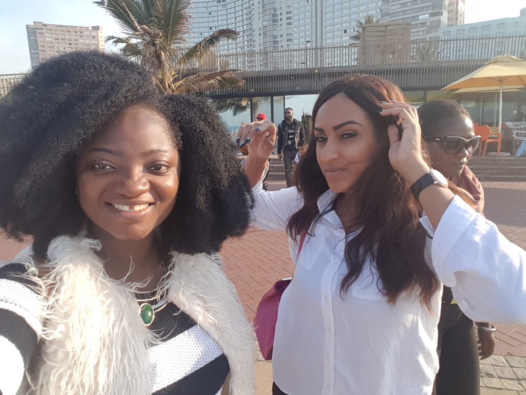 TOSIN AJIBADE WITH JULIET IBRAHIM