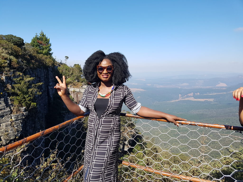 TOSIN AJIBADE AT GOD'S WINDOW IN MPUMULANGA