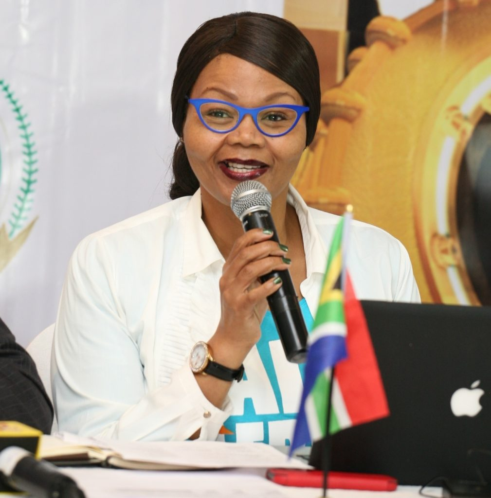 Director, Brand Communication and Sponsorship, AFRIMA, Matlou Tsotetsi