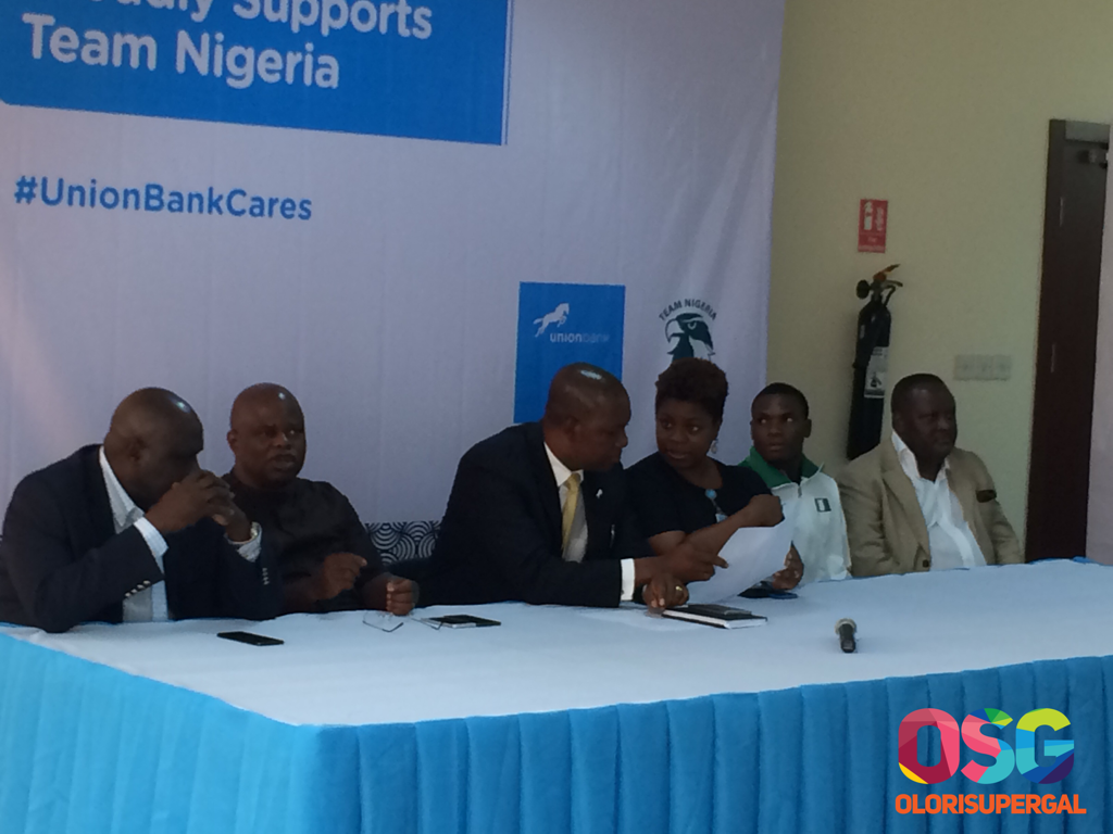 Union Bank supports Team Nigeria
