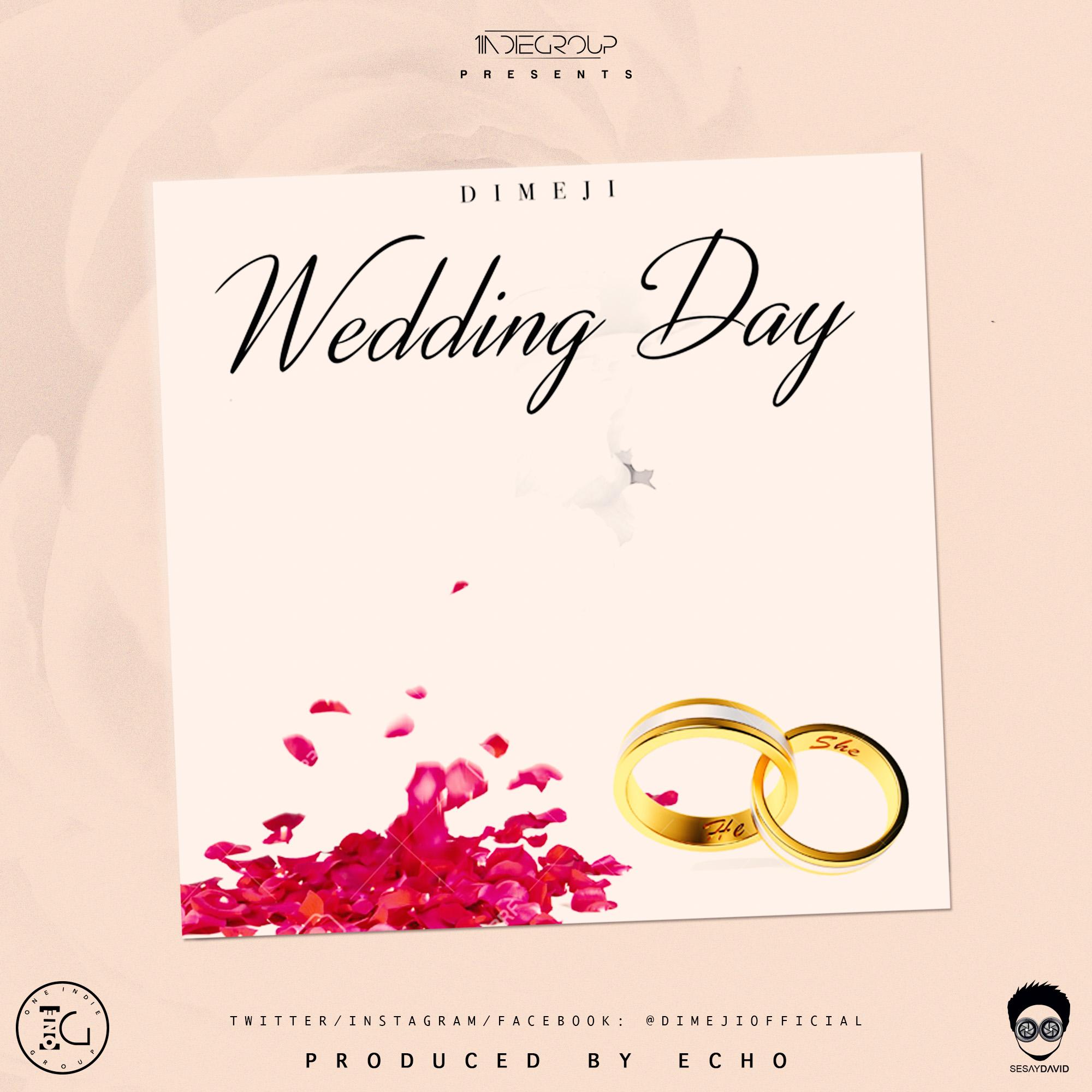 dimeji the perfect wedding day song olori supergal