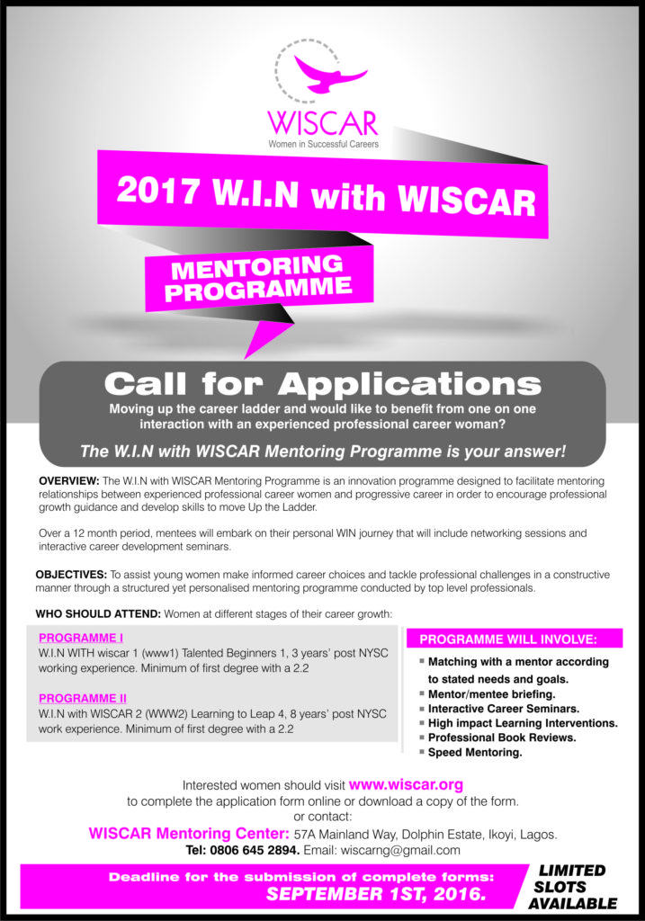 Wiscar Mentoring Pro. (2017) for site