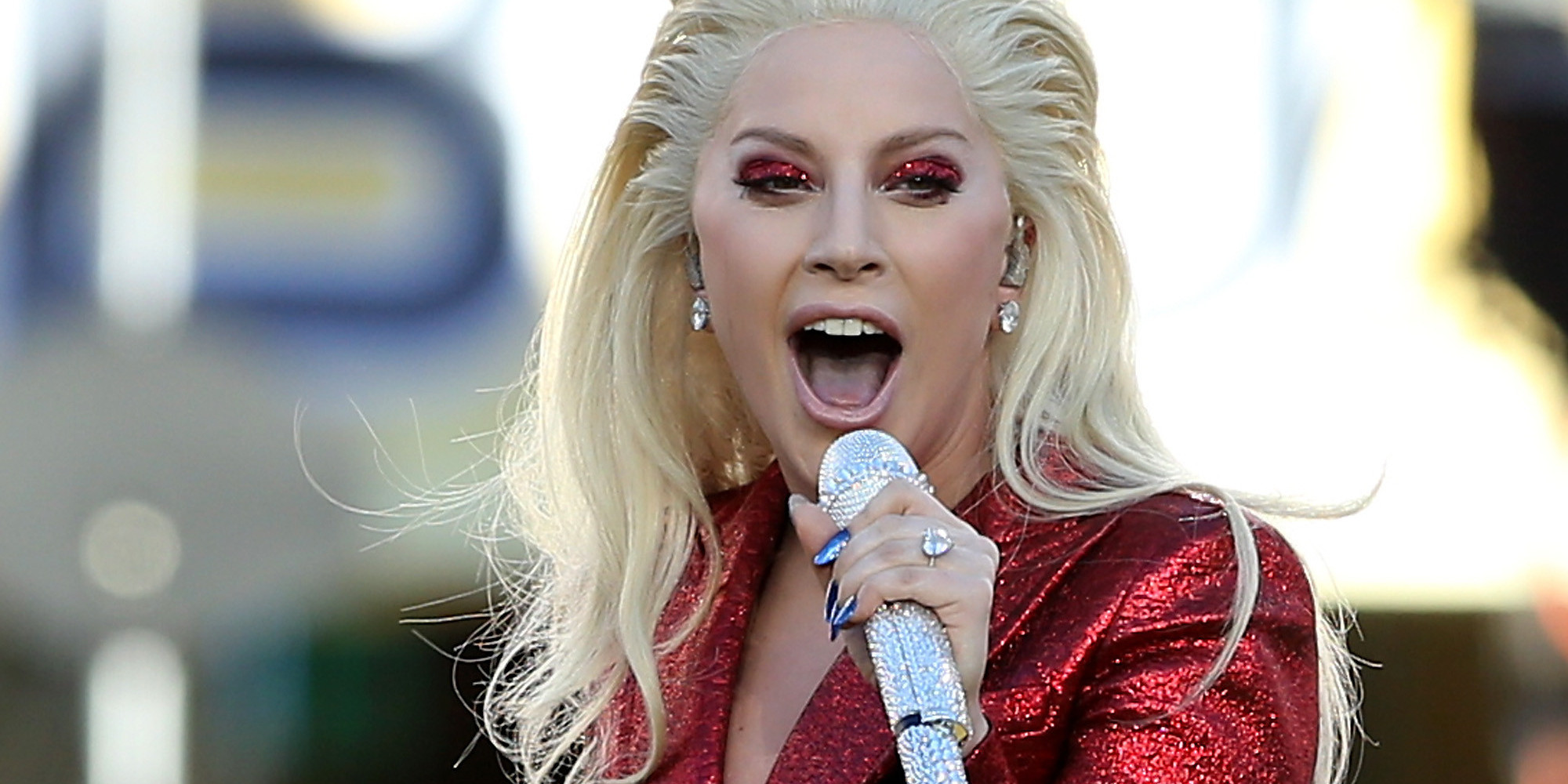 Lady Gaga Leaks Own Makeup Test For Coachella Week 2