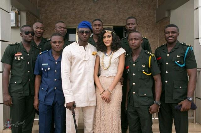 sonia ibrahim and the grooms men
