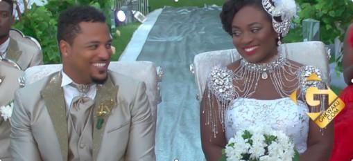Beautiful Wedding Pictures of Van Vicker and Jackie Appiah - Olori Supergal
