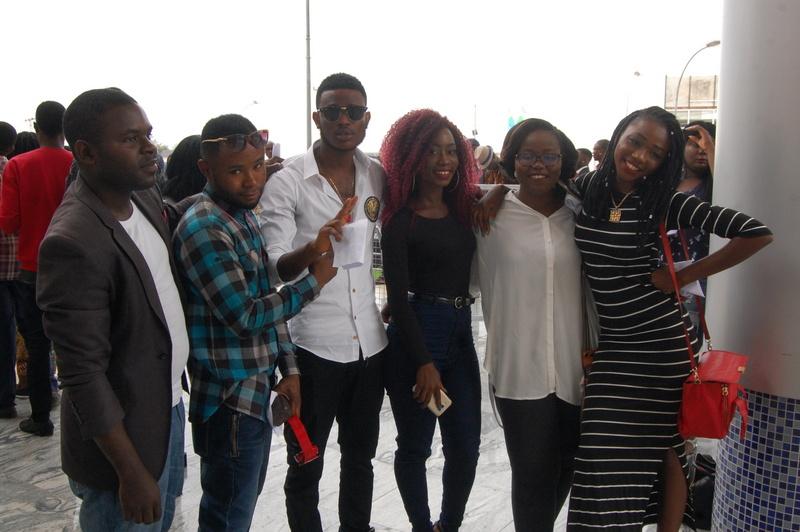 MTV Base JV Search 2016 Abuja contestants