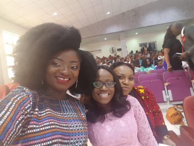 TOSIN AJIBADE WITH FUNKE BUCKNOR OBRUTHE