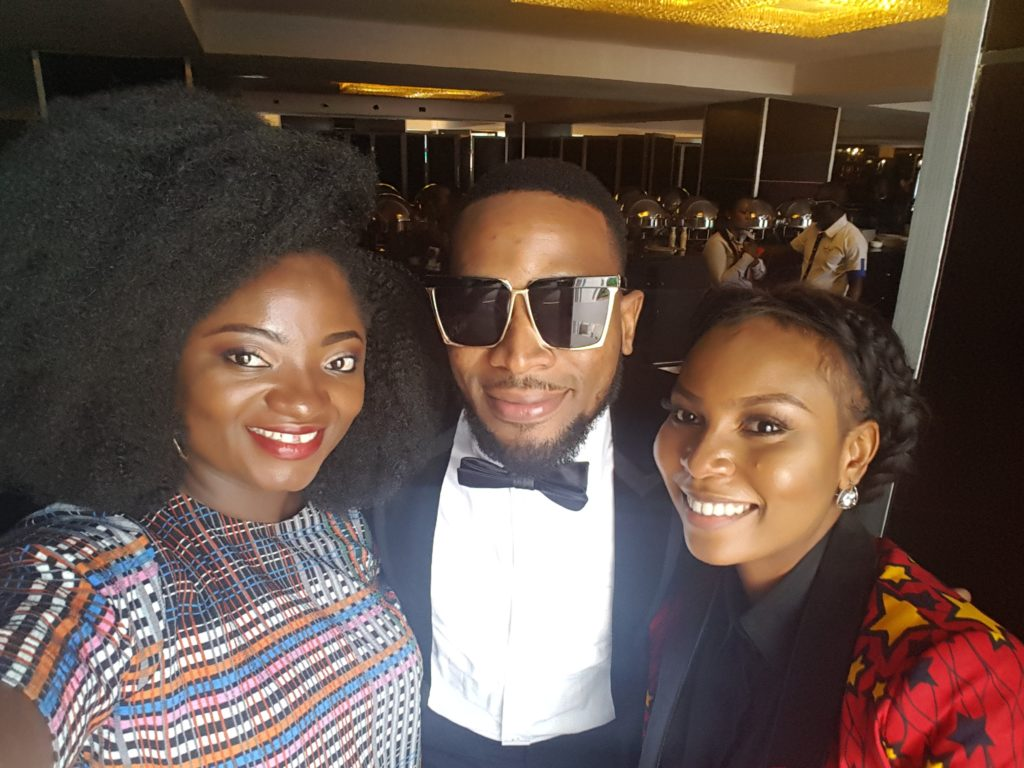 TOSIN AJIBADE WITH D'BANJ AND RONKE FELLA