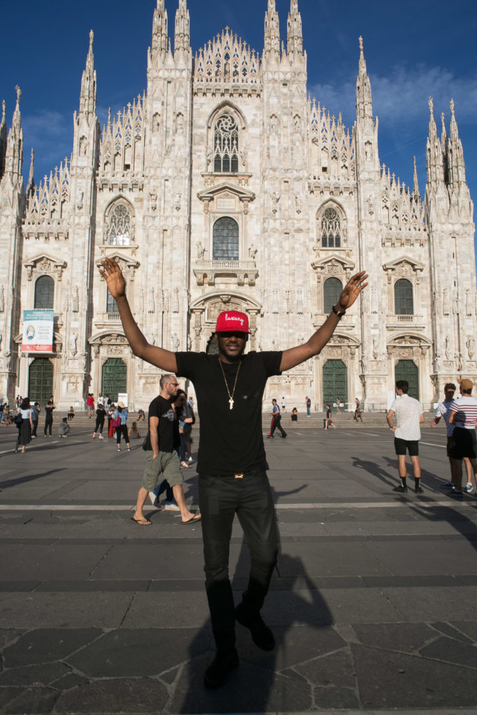 2Baba spotted in Milan