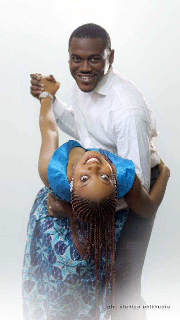 Actor 'Deyemi Okanlawon Shares Gorgeous Throwback Maternity Photos of his Wife 5