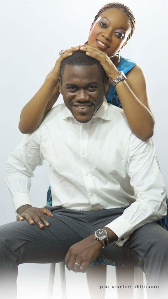 Actor 'Deyemi Okanlawon Shares Gorgeous Throwback Maternity Photos of his Wife 6
