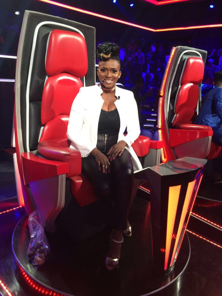 Waje at The Voice