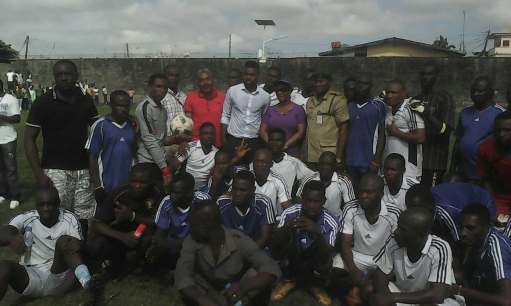 Joseph Yobo Foundation launches Football Academy in Prisons