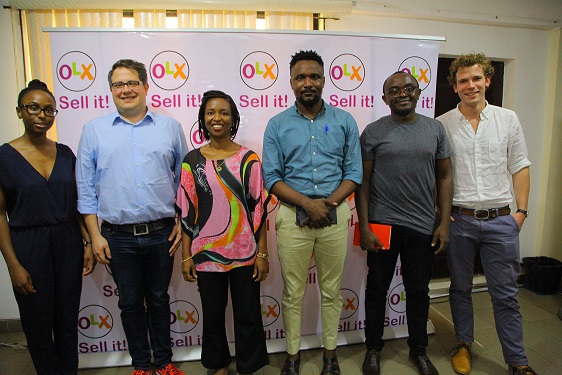 L-R: Ire Aderinokun, Design and Product Lead, Big Cabal Media; Stephen Ballot, CTO, OLX SSA; Lola Masha, Country Manager, OLX; Oo Nwoye, Co-Founder Fonebase Labs and Stephen van der Hejiden, Product Owner, OLX  SSA during the partnership of OLX and TechCabal product masterclass for developers in Lagos recently.