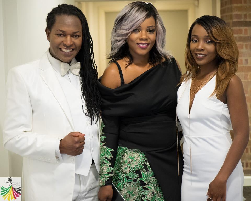 (L-R) Kevin Ncube, Founder Chiedza Ziyambe & Nyasha  Michelle