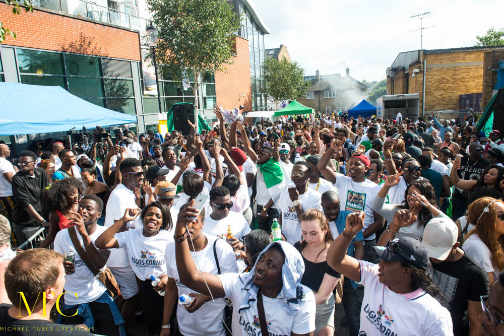 Lagos Corner at Notting Hill Carnival 2016-17