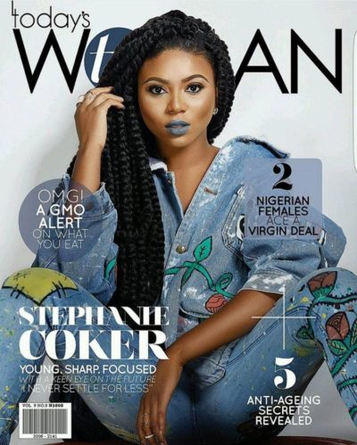 Stephanie Coker on TW Magazine