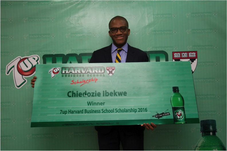 Winner, 7UP Harvard Business School Scholarship 2016, Chiedozie Ibekwe
