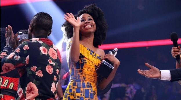 Arase Winner, the voice Nigeria