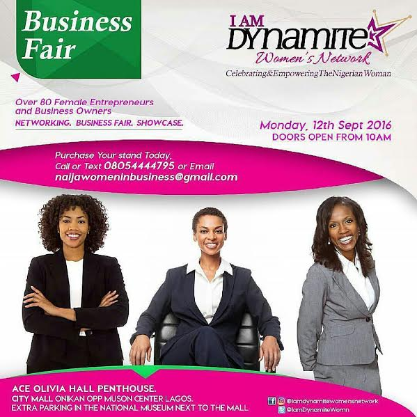 i am dynamite women's event
