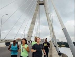 mark Zuckerberg on Ikoyi Bridge