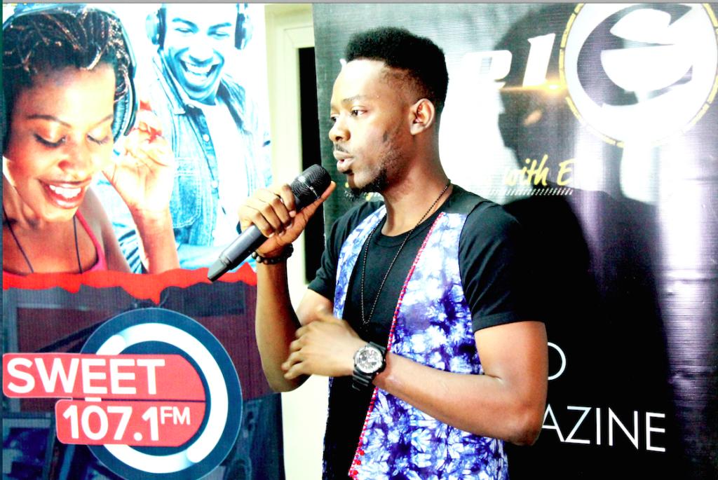 Adekunle Gold Meets media.