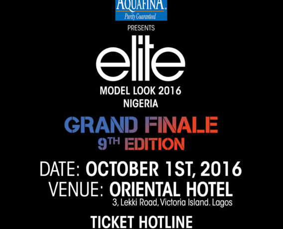 Aquafina Elite Model Look 2016