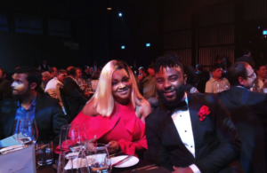 Mercy Aigbe and VJ Adams at the Launch