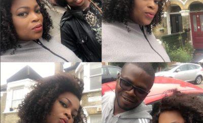 Funke Akindele and lover, JJC