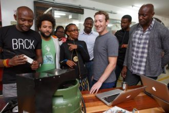 mark zuckerberg in nairobi