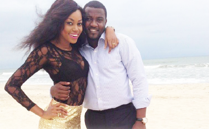 Yvonne Nelson and John Dumelo