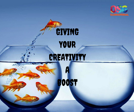 Giving Your Creativity a Boost