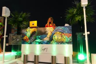 DJ Cuppy and Temi host Bonhams in London