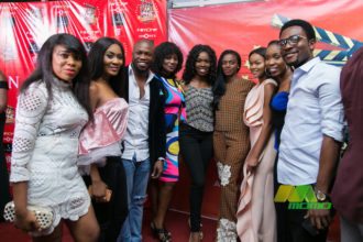 Nollywood Stars turn up for 'Dinner' Movie Premiere