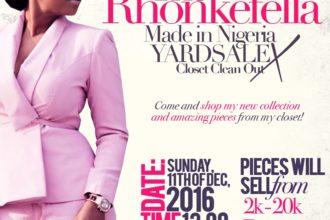 The Rhonkefella Made in Nigeria Yardsale
